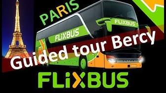 FlixBus Paris - Bercy subway to FlixBus stop