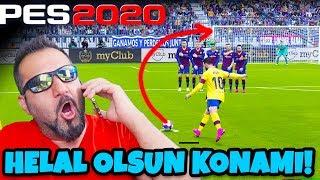 KONAMI BENİ ŞOK ETTİ! BUNLAR BİZİ DİNLİYOR!   eFootball PES 2020 DEMO ONLINE MAÇ!