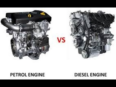 Difference Between Diesel Engine And Petrol Engine Explained In  Tamil