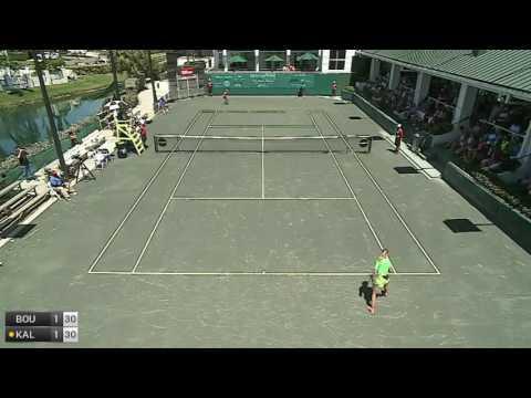 Bouchard Eugenie v Kalinina Anhelina - 2017 ITF Indian Harbour Beach