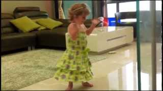 16 Month Baby Girl Evelina dancing Cute Babies