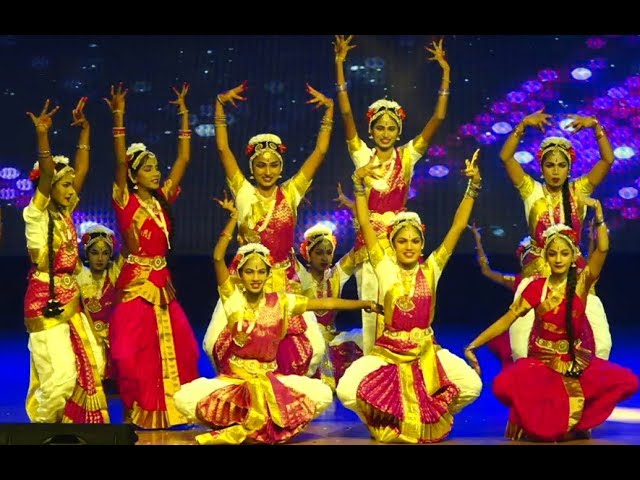 Classical fusion dance - Janapriya School 18th Annual day