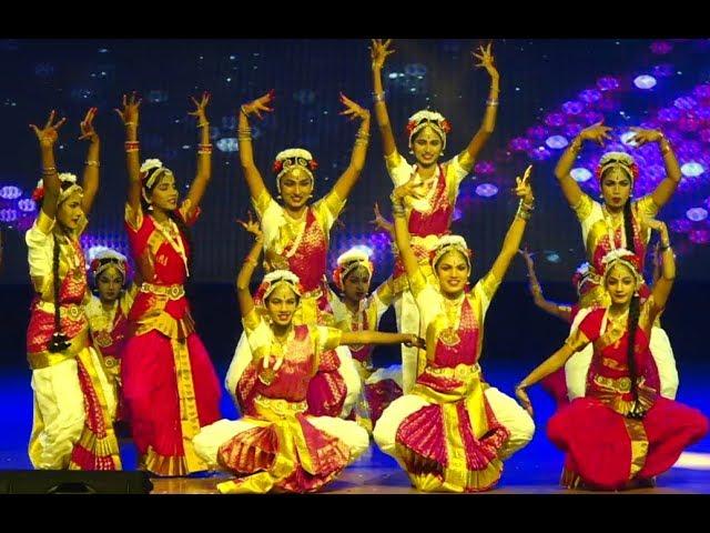 Classical fusion dance   Janapriya School   18th Annual day