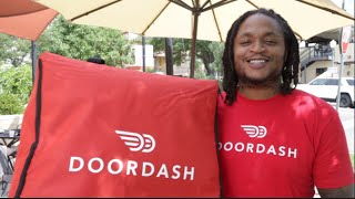 LenDale White Delivers the Good with DoorDash