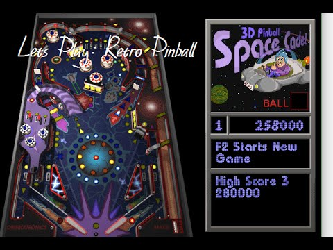 Lets Play: 3D Space Cadet Pinball For Windows