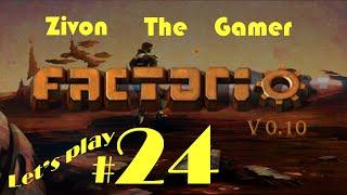 Factorio V.10 Let's Play Episode 24: Construction With Blueprints & Robots