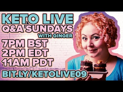 Live Keto Low Carb Q&A 2020 #09 �� Niacin, Lupin Flour, Best Time to Eat, Gallbladder