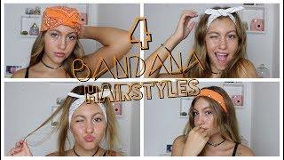 4 Bandana Hairstyles 💁🏽♀️