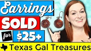 Check out some earrings that have sold for $25 or more in my etsy and ebay stores. jewelry doesn't to be gold silver make you good money! 40 ...