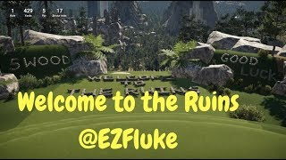 The Golf Club 2 PC - EzFluke @ The Ruins (Fantasy Course) - Crazy Gameplay