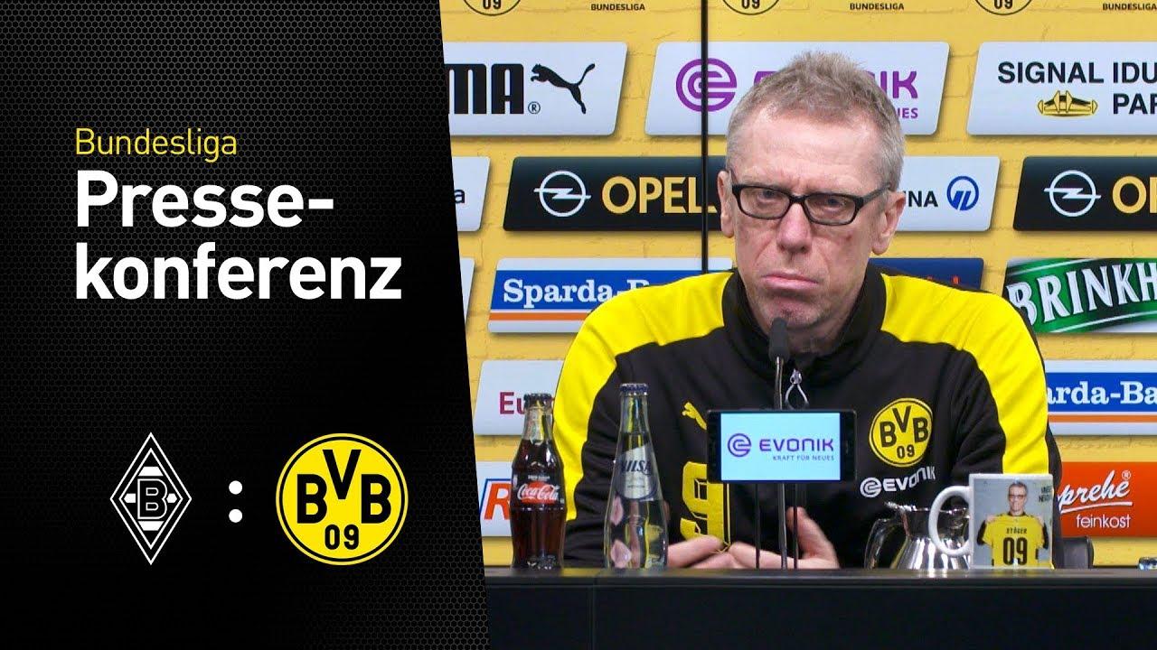 """Können uns Luft verschaffen"" | Peter Stöger | Borussia Mönchengladbach - BVB"