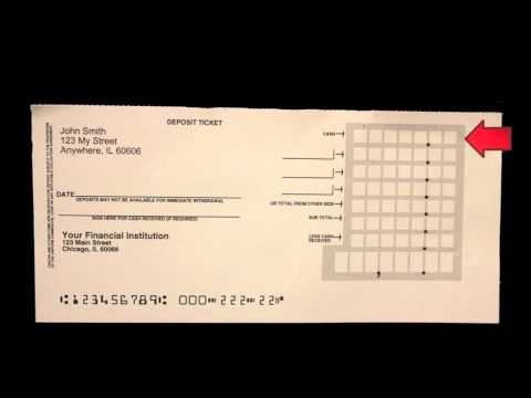 photo regarding Us Bank Deposit Slip Printable named How in direction of Fill Out a Deposit Slip - Carousel Assessments