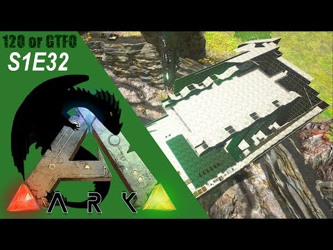 ARK: Survival Evolved Gameplay - Flyer Landing Platform! Base Build Part 8  - 120 or GTFO S1E32