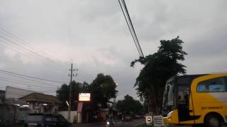 Telolet lagu wijaya tour di pom jombang