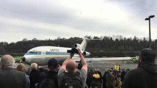 727 Final Engine Shut Down--March 2, 2016