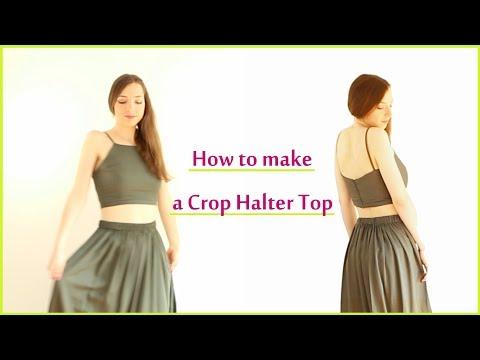 DIY Halter Crop Top | Sew & Wear Ep. 8