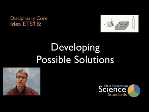 ETS1B - Developing Possible Solutions