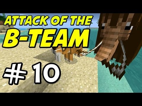 "Minecraft | Attack of the B-Team | E10 ""Prehistoric Morphs!"""