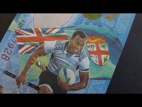Fiji's Beautiful Unique 7 Dollar Banknote