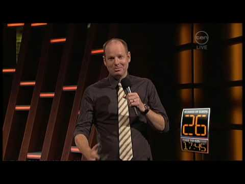 ROVE stand up comedians - World record attempt 60 guests in 60 minutes