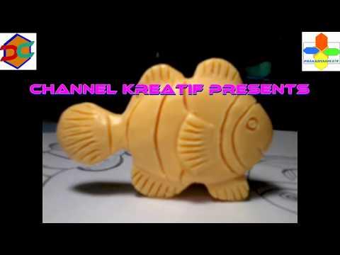 Soap Carving | Clown Fish | Easy | DIY | Tutorial Membuat Ukiran Patung  Sabun Ikan Badut | Swakriya