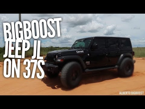 WILL 37 INCH TIRES FIT ON THE JEEP JL ON STOCK SUSPENSION