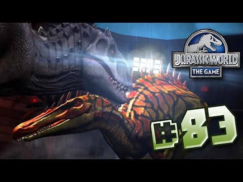 Indominus Vs Suchomimus || Jurassic World - The Game - Ep 83 HD