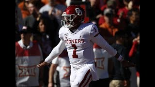 Jalen Hurts Pulls Off Ridiculous Behind-The-Back Move vs. Texas