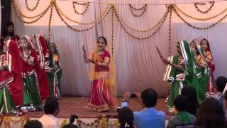 Chhail Bhanwar Ji Rajasthani song, Dance performance by Hiral Jain-Kritvi Sharma and group