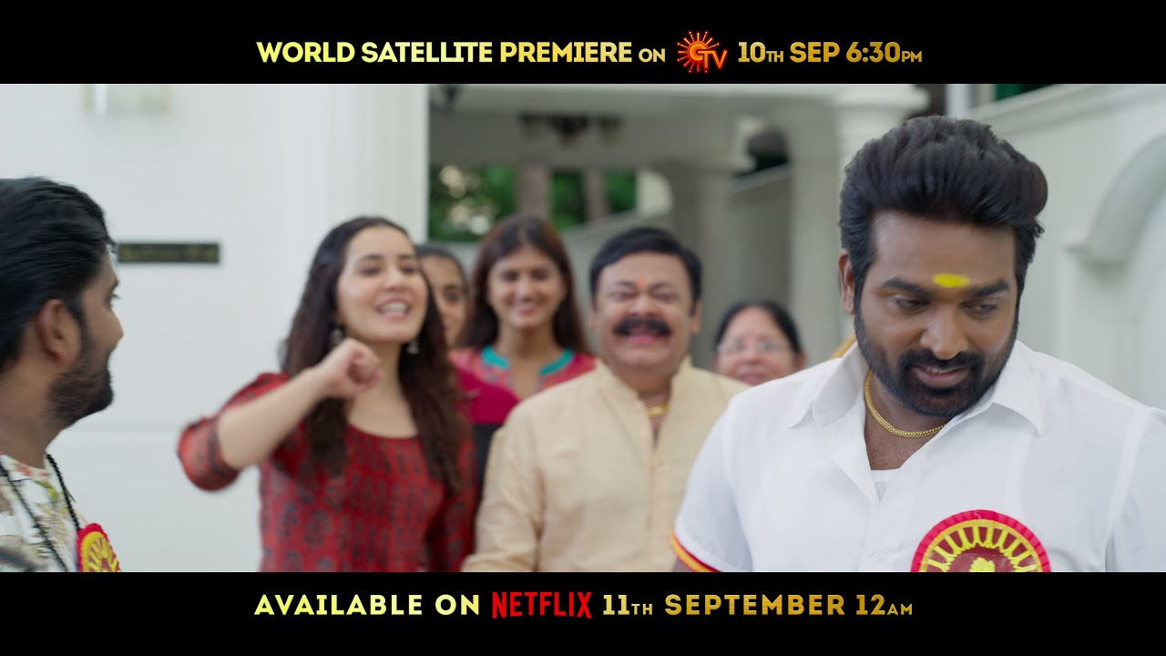 Download Tughlaq Durbar-Release Promo 2 |4K| Vijay Sethupathi | Delhi Prasad | Raashi Khanna | Manjima Mohan