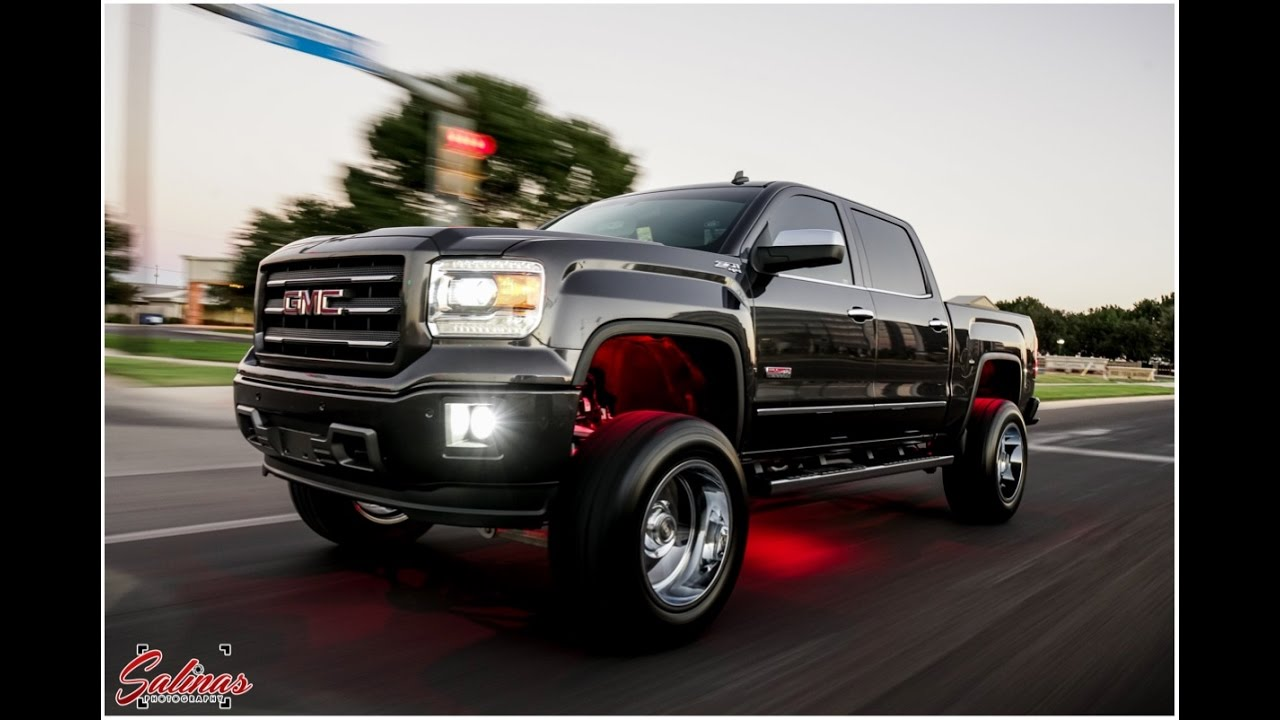 Lifted Gmc Sierra >> All Terian GMC Sierra Gets a Mild fix up with a Mcgaughys ...