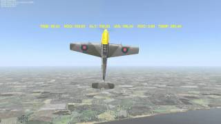 Aerobatics. The Bell. Пилотаж. Колокол.(Маневр высшего пилотажа колокол. В реале на Як-52, Л-39, в Битве за Британию на Мессере, в Ил-2 на Ла-5ФН и на Аэрок..., 2012-08-21T21:38:00.000Z)