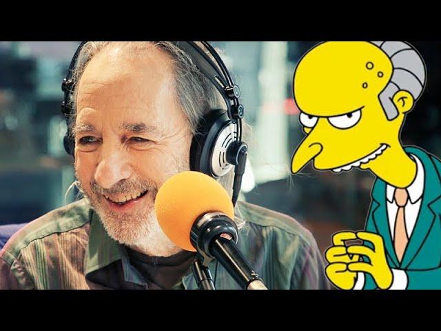 Harry Shearer Does His Famous Mr. Burns Voice! | Kennedy Molloy | Triple M