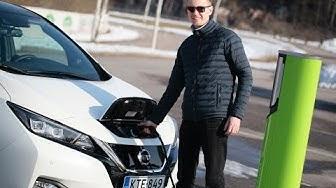 Testissä uusi Nissan Leaf (Teknavi 2018)