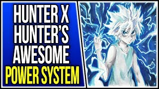 The Hunter X Hunter Power System is the Best in Shounen Anime