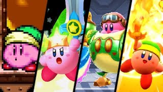 Evolution of Sword Kirby (1993 - 2018)