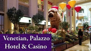 Las Vegas Venetian, Palazzo Hotel & Casino Tour..2018