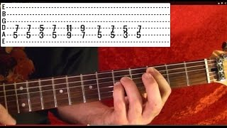 Guitar Lesson - NIRVANA - Pennyroyal Tea - Easy!