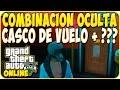 TRUCOS GTA 5 ONLINE - COMBINACION OCULTA CON CASCO DE PILOTO - GTA 5 PS4, PC Y XBOX ONE