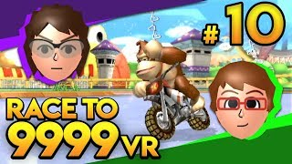 Mario Kart Wii - MR BEAN WHYYY?! - Race To 9999 VR | Ep. 10