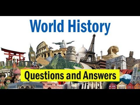 World History GK Questions for All Competitive Exams || World History Questions || GK Adda