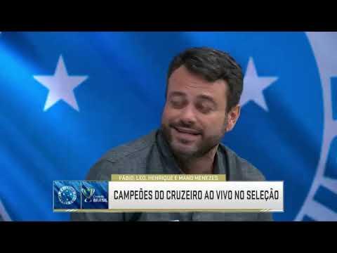 Técnico Mano Menezes e Jogadores falam do título conquistado da copa do Brasil e da temporada 2018..