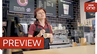Name on cup? - Tracey Ullman's Show: Series 2 Episode 5 Preview - BBC One