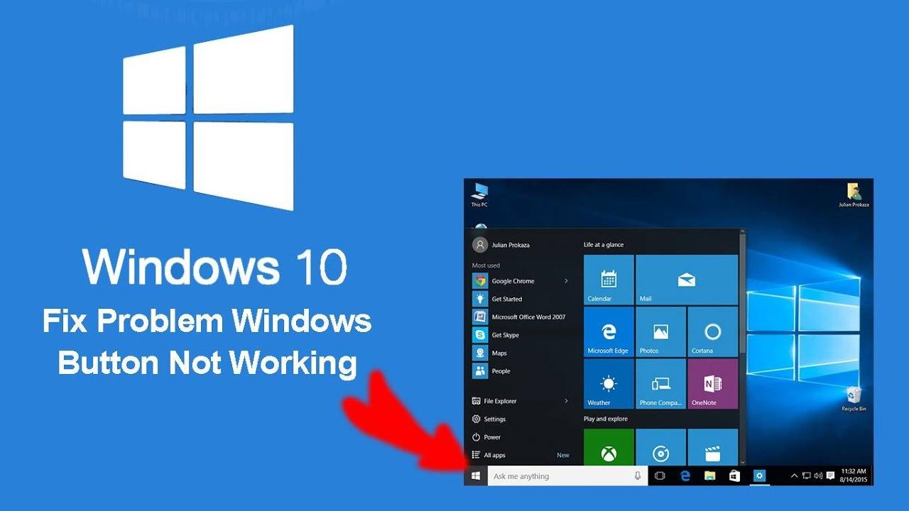 windows 10 start menu not showing all apps