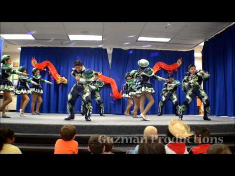 San Simon Universitarios: Simoncitos 2015 at Dranesville Elementary School