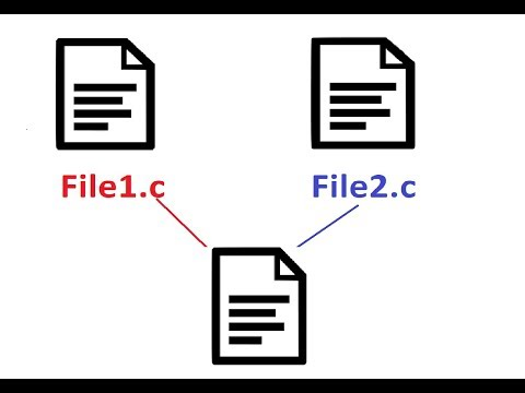 How To Link 2 Source Code Files With C Programming