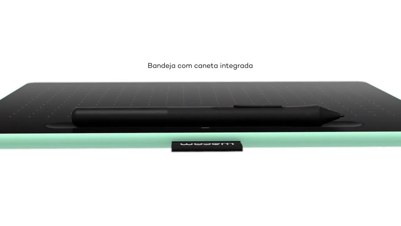 Mesa Digitalizadora Wacom Intuos Pequena - CTL4100 | Karimex