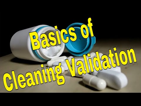 Basics Of Cleaning Validation