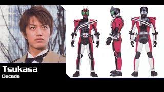 仮面ライダーディケイド 変身音 セリフつき Kamen Rider Decade henshin sound