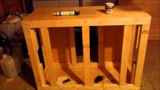 Rebuild Of The 150 Gallon Sps Tank...part 5...part 2 Of 3...diy Stand